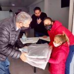 25 familias de Urdinarrain recibieron frazadas del programa «Cobijar»