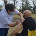 Se llevan aplicadas más de 9 mil dosis de la vacuna contra el Covid en Urdinarrain