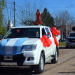 Con misa y caravana de autos se celebró el Sagrado Corazón de Jesús patrono de Urdinarrain