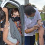 Vacunaron a unas 200 personas con segunda dosis de la vacuna Sinopharm