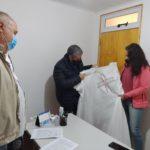 El Municipio entregó ropa de cama para el Hospital de Urdinarrain