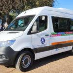 La Escuela «Arco Iris» ya tiene su nuevo transporte escolar que fue presentado este lunes