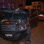 Tremendo accidente entre dos camionetas en la madrugada de Urdinarrain