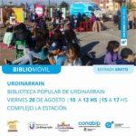 El próximo viernes estará el BiblioMóvil en el predio La Estación de Urdinarrain