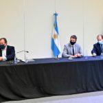 El intendente firmó el convenio para la construcción de 40 viviendas en Urdinarrain