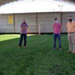 El Club Juventud Urdinarrain presentó su nueva cancha de césped sintético