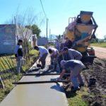 El municipio continúa con el plan de mejoramiento barrial