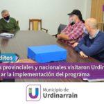 Microcreditos: Referentes de provincia y nación visitaron Urdinarrain para evaluar la implementación del programa