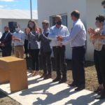 El Gobernador Gustavo Bordet inauguró viviendas en Urdinarrain y realizó anuncios